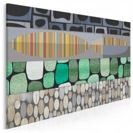 Iskra radości - nowoczesny obraz na płótnie - 120x80 cm
