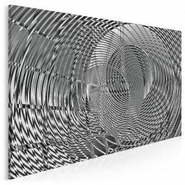 Kakofonia - nowoczesny obraz na płótnie - 120x80 cm