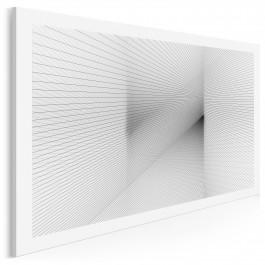 Zbieżność znaczeń - nowoczesny obraz na płótnie - 120x80 cm