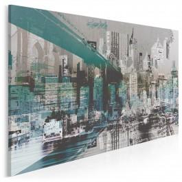 Miejskie legendy - nowoczesny obraz na płótnie