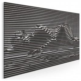 Mistyfikacja - nowoczesny obraz na płótnie - 120x80 cm