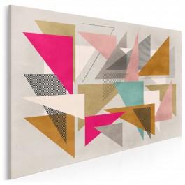 Skrzydła fantazji - nowoczesny obraz na płótnie - 120x80 cm
