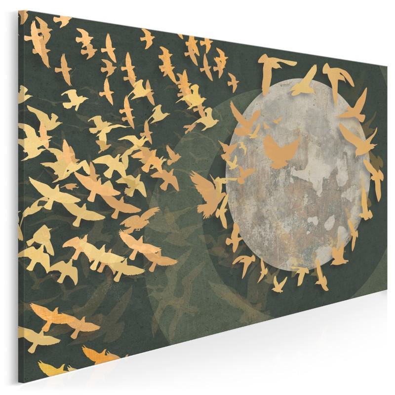 Wolne ptaki - nowoczesny obraz na płótnie
