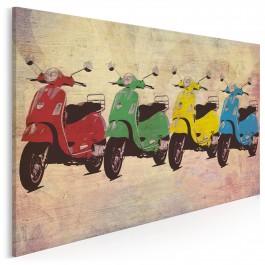 Tutti Frutti - nowoczesny obraz na płótnie - 120x80 cm