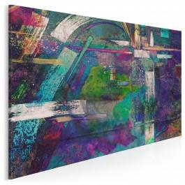 Triumf splendoru - nowoczesny obraz na płótnie - 120x80 cm