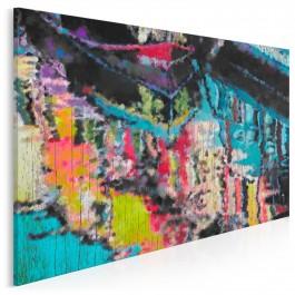 Aura transcendencji - nowoczesny obraz na płótnie - 120x80 cm