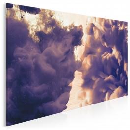 Porozumienie bratnich dusz - nowoczesny obraz na płótnie - 120x80 cm