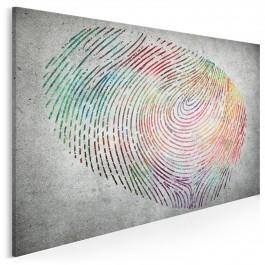 Współrzędne tożsamości - nowoczesny obraz na płótnie - 120x80 cm