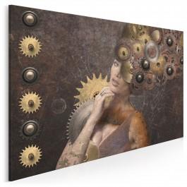 Żelazna dama - nowoczesny obraz na płótnie - 120x80 cm