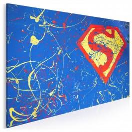 Superbohater - nowoczesny obraz na płótnie - 120x80 cm