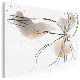 Kwiat pustyni - nowoczesny obraz na płótnie - 120x80 cm