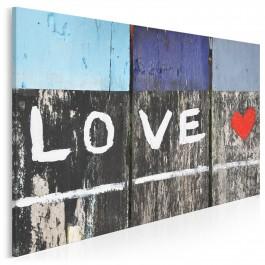 Drogowskaz miłości - zdjęcie na płótnie