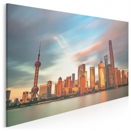 Kolory Szanghaju - fotografia na płótnie