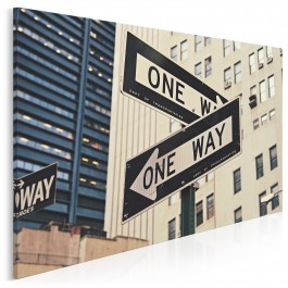 One way - fotoobraz na płótnie