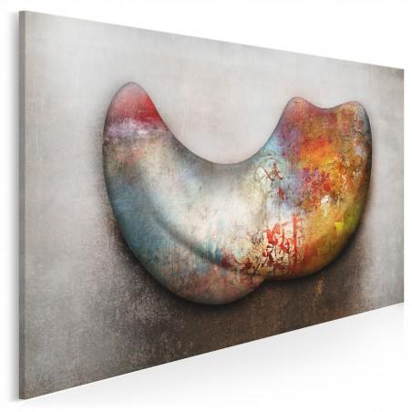 Plemienne trofeum - nowoczesny obraz na płótnie - 120x80 cm