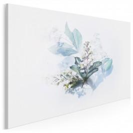 Wielka księga zielarstwa - nowoczesny obraz na płótnie - 120x80 cm