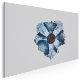 Błękitne objawienie - nowoczesny obraz na płótnie