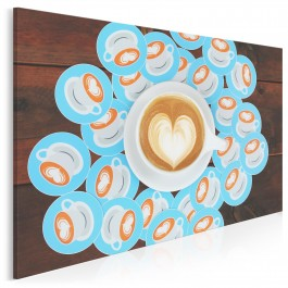 Klub miłośników kawy - fotoobraz do kuchni