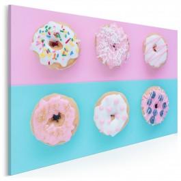 Pastelowe słodkości - fotoobraz do kuchni - 120x80 cm