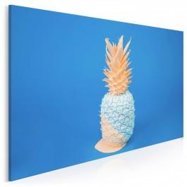 Ananasowe rewolucje - fotoobraz do kuchni - 120x80 cm