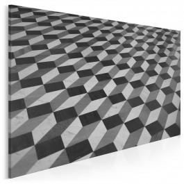 Kubatura - nowoczesny obraz na płótnie - 120x80 cm