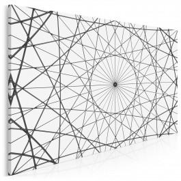 W sieci - fotoobraz do sypialni - 120x80 cm