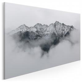 Góra chwały - nowoczesny obraz na płótnie - 120x80 cm