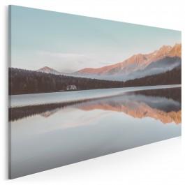 Domek na uboczu - fotografia na płótnie - 120x80 cm