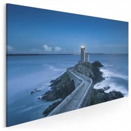 Latarnia morska - fotoobraz do sypialni - 120x80 cm