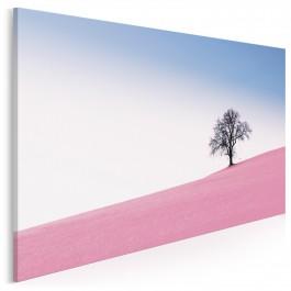 Oaza zadumy - nowoczesny obraz na płótnie - 120x80 cm