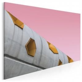 Millennial pink - nowoczesny obraz na płótnie