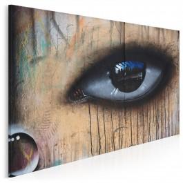 Zwierciadło duszy - fotoobraz do salonu - 120x80 cm