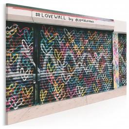 Love wall - zdjęcie na płótnie