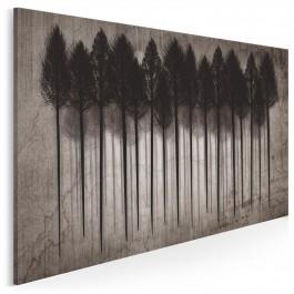 Wrota tajemnic - nowoczesny obraz na płótnie - 120x80 cm