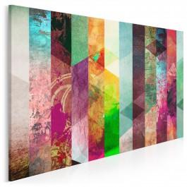 Ziemia obiecana - nowoczesny obraz na płótnie - 120x80 cm