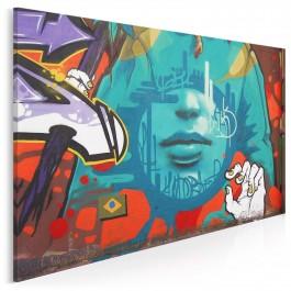 Cicho sza - fotoobraz do salonu - 120x80 cm