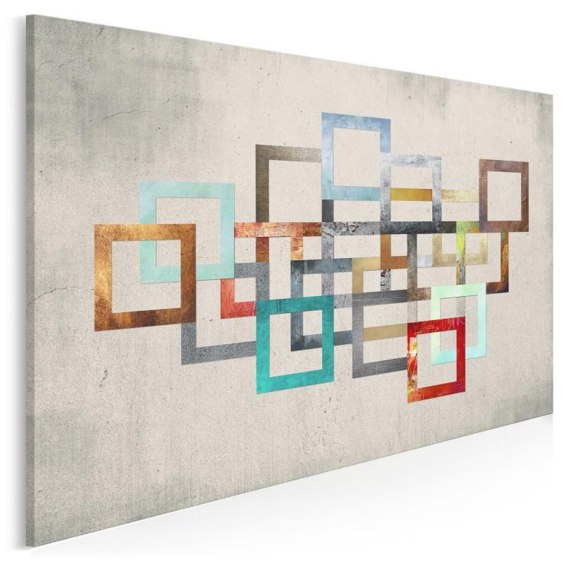 Łańcuch zdarzeń - nowoczesny obraz na płótnie - 120x80 cm