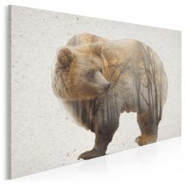 Gawra cierpliwości - nowoczesny obraz na płótnie - 120x80 cm