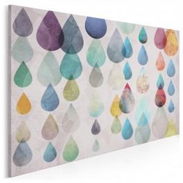 Łzy szczęścia - nowoczesny obraz na płótnie - 120x80 cm