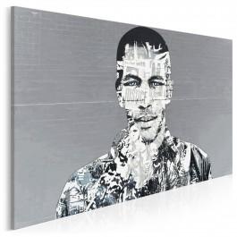Mr Nobody - fotoobraz do sypialni - 120x80 cm