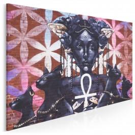 Bogini Bastet - fotoobraz na płótnie - 120x80 cm