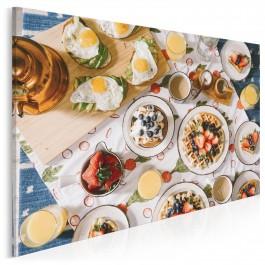 Śniadanie mistrzów - fotoobraz do kuchni