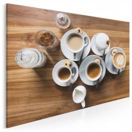 Cafè au lait - fotoobraz do kuchni - 120x80 cm