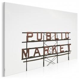 Market - zdjęcie na płótnie - 120x80 cm