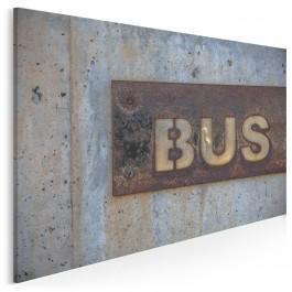 Bus - fotoobraz na płótnie