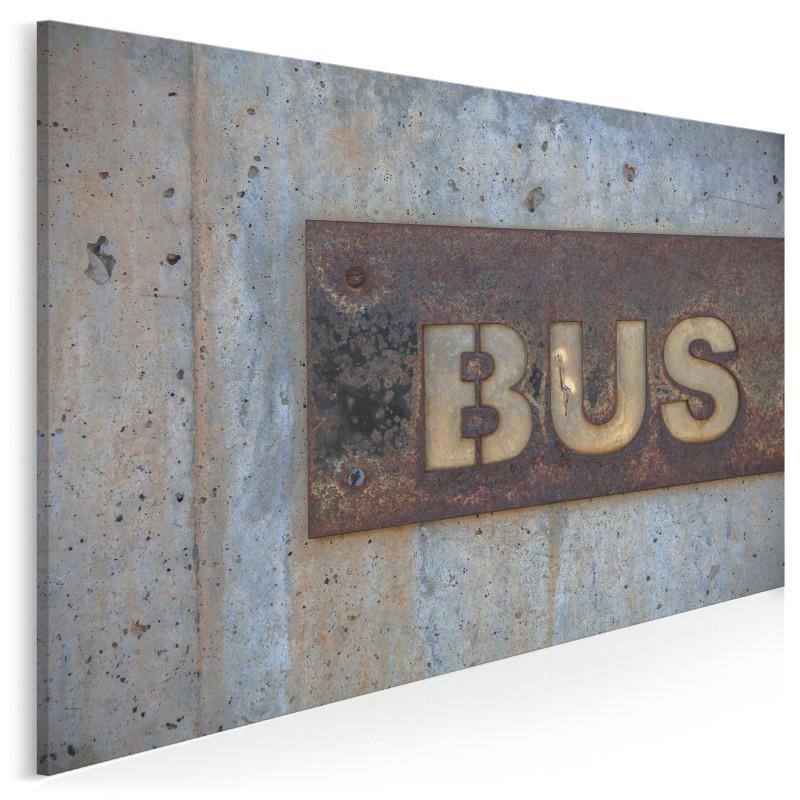 Bus - fotoobraz na płótnie - 120x80 cm