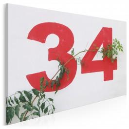 Numer 34 - fotoobraz do sypialni - 120x80 cm