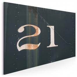 Numer 21 - zdjęcie na płótnie - 120x80 cm