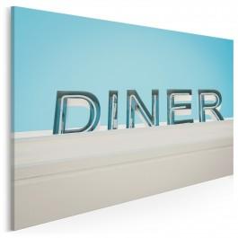 Diner - fotoobraz do sypialni - 120x80 cm