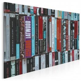 Domowa biblioteczka - zdjęcie na płótnie